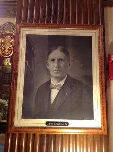 "The enigmatic Mr. Coleman, who has spawned ghost stories with his ""following eyes"" (the portrait of his son on the other wall does the same thing!) and created a fortune in coal, which built the theater and later distinguished the Miami region as one of the largest EPA cleanup sites in the country."