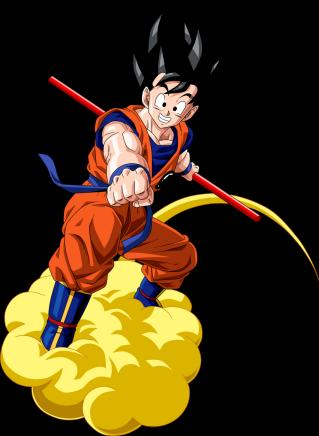 Goku, showcasing both pure-heartedness and fierceness.